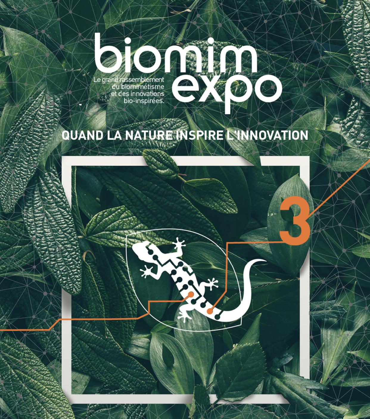 Biomim'expo     Paris, France - Oct 23, 2018