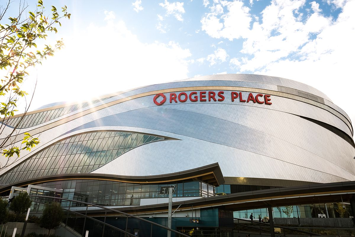 Rogers Place Edmonton 104th Street