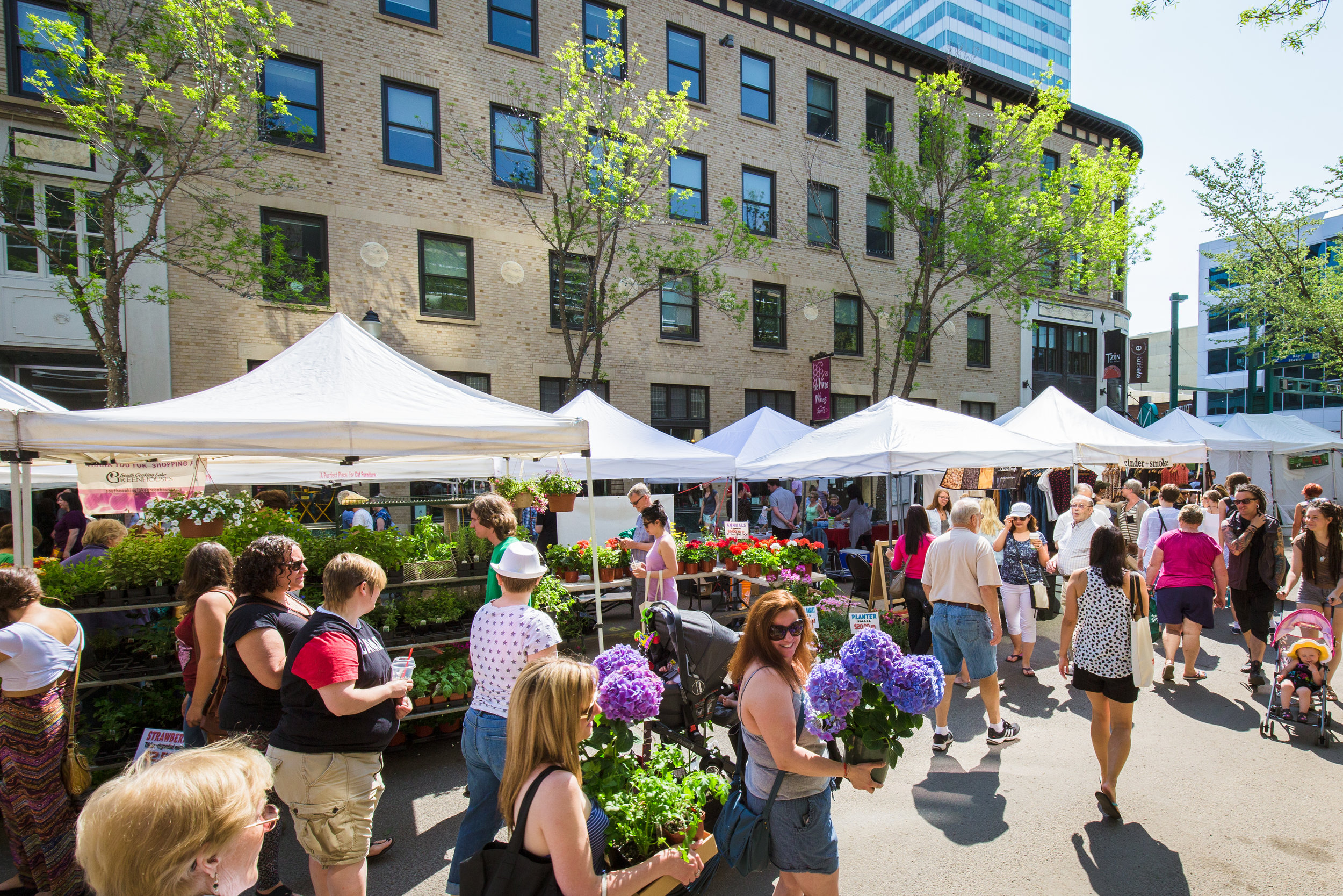Edmonton 104th Street Farmers Market