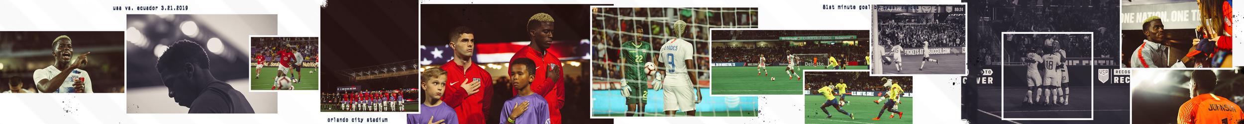 US SOCCER: Matchday vs. Ecuador