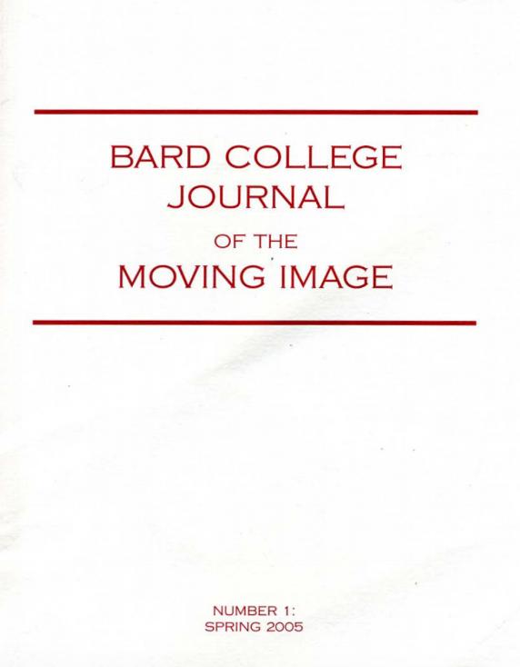 Bard College Journal | Patrick Hebron | 2005