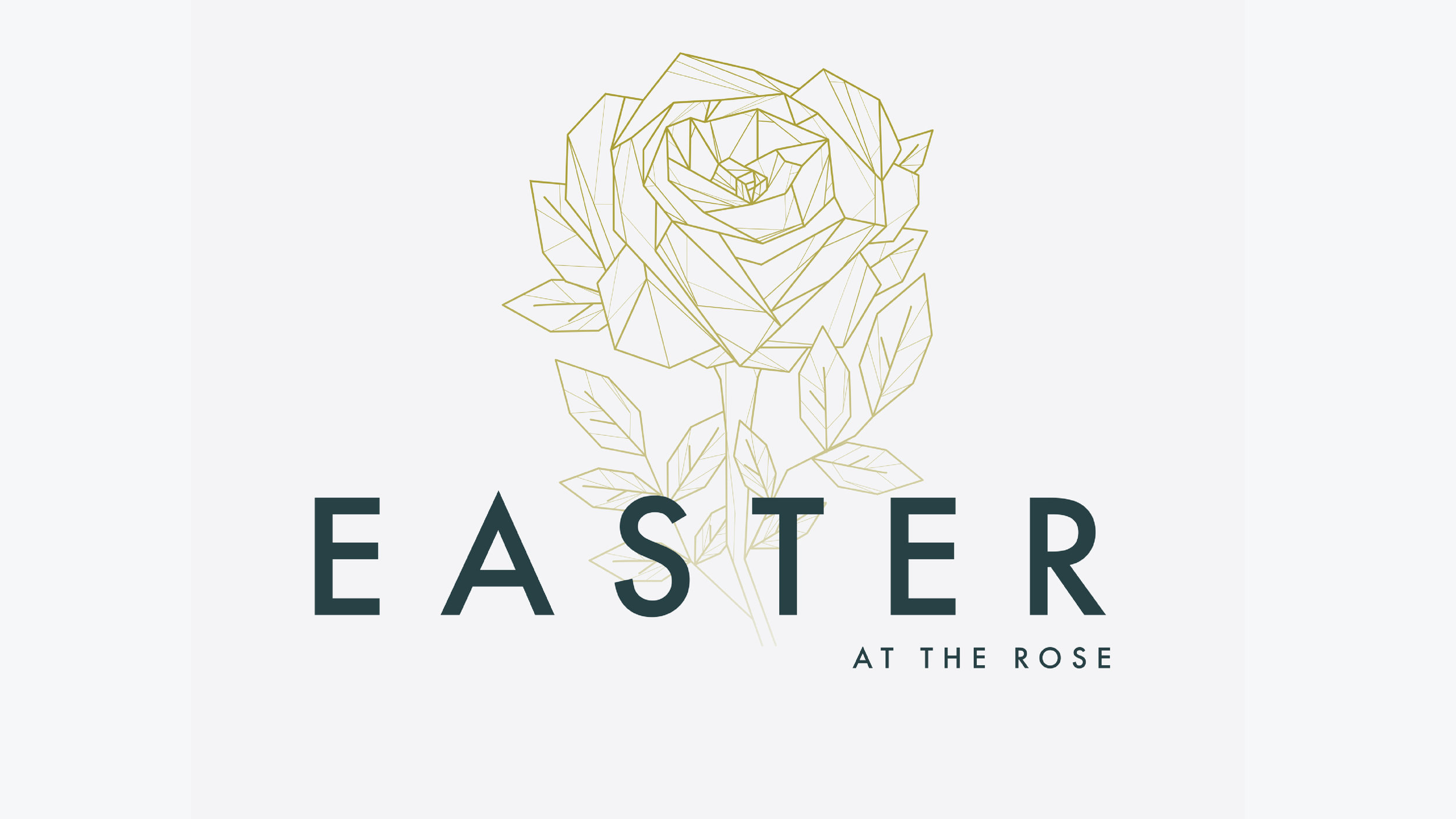 Easter at the Rose - Easter Sunday 2018.