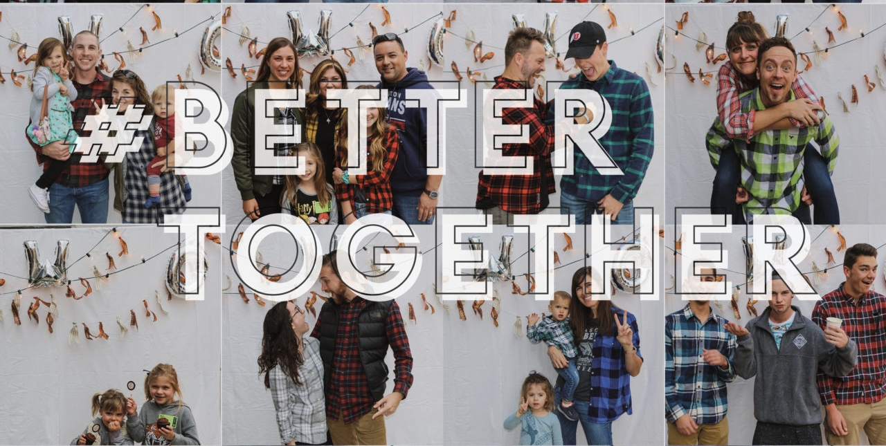 Better Together - Coming into 2018, we felt like God spoke these words over our church family for this year: BETTER TOGETHER. During this four-part series, pastor JR Baker walks us through what that looks like.