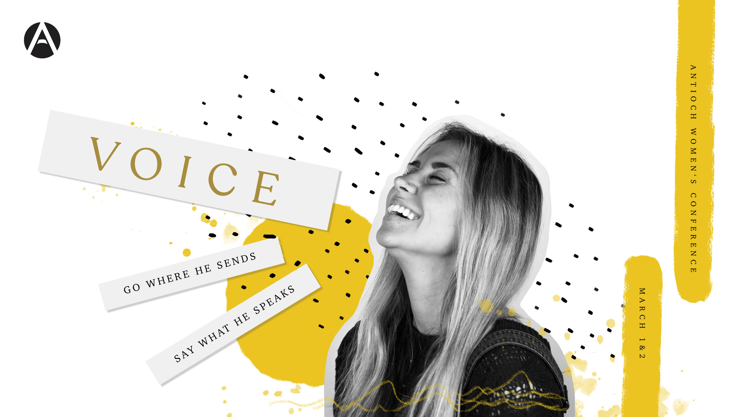 V O I C E - Go where He sends. Say what he speaks.We had a powerful weekend together at our women's conference this year! You can re-listen and/or download the messages from this year's conference here!