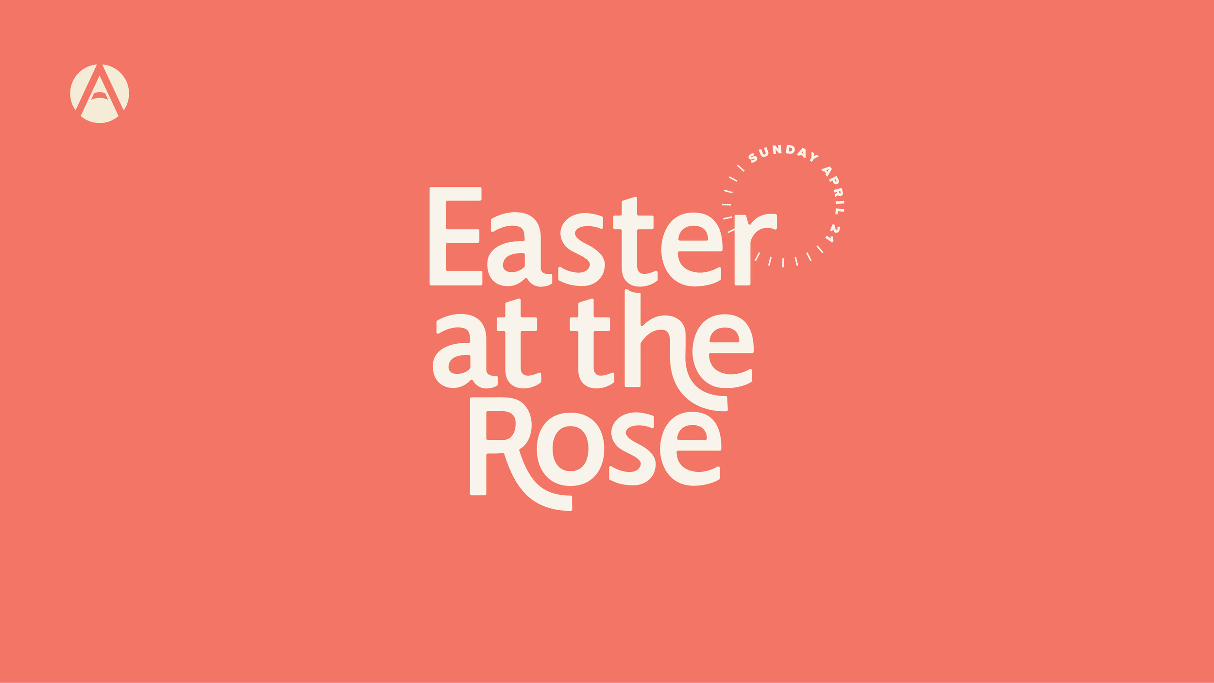 Easter at the Rose - Listen to pastor Codi Wasion's message from Easter Sunday 2019!