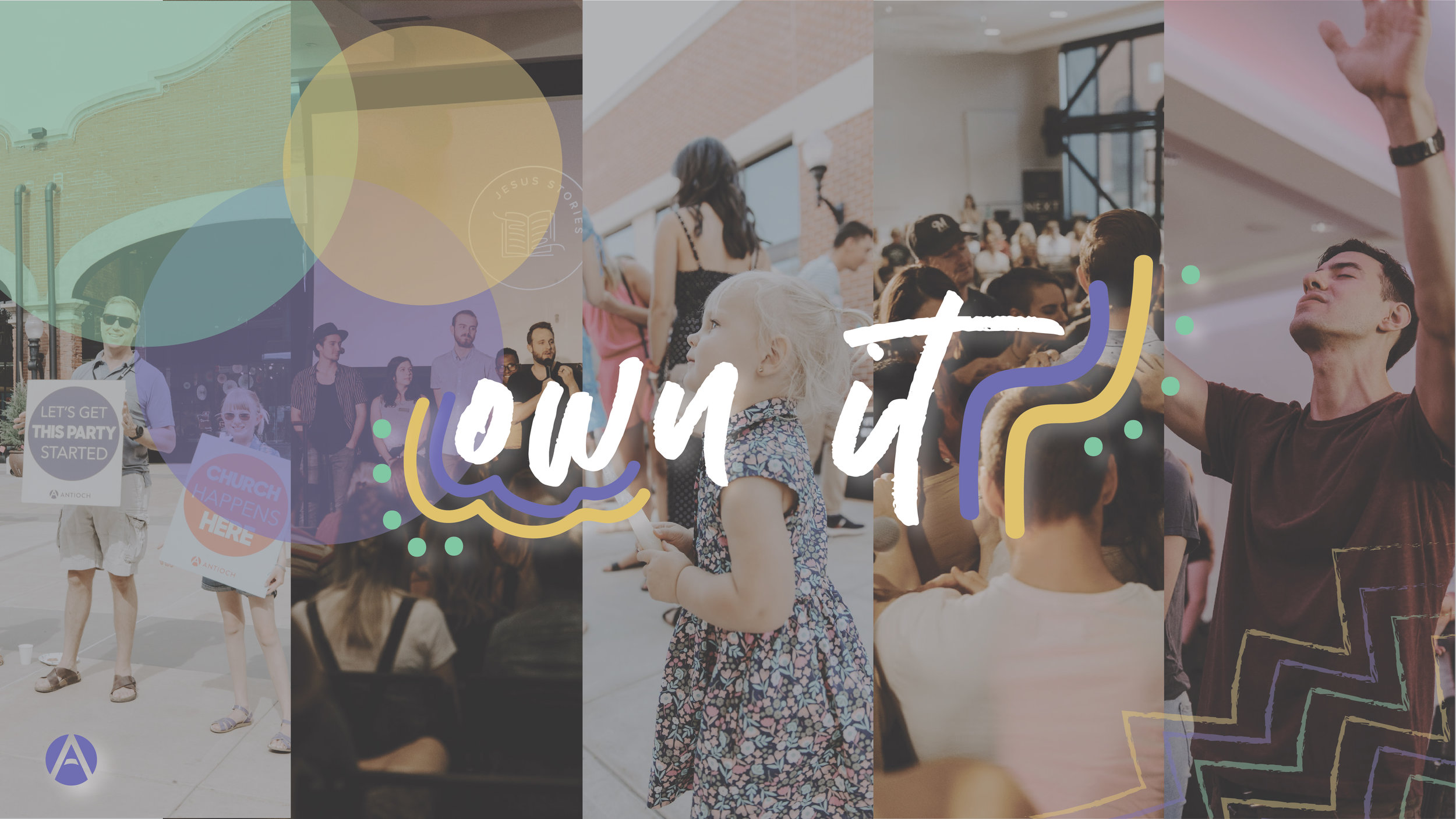 Own It - This series helps us understand how we are to partner with God in owning our life with Christ.
