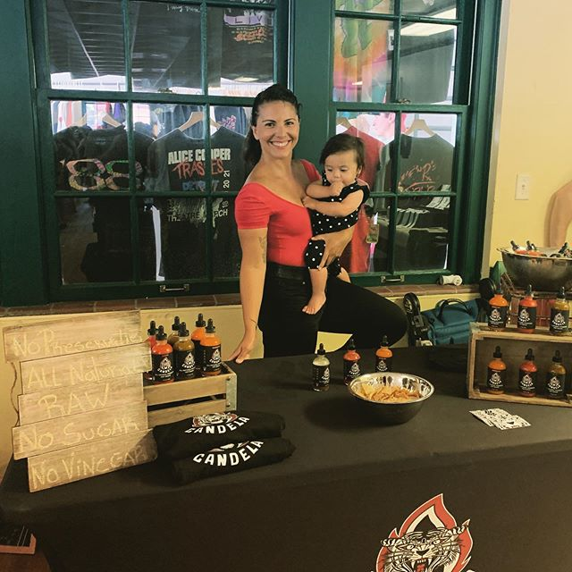 Here we are again! Come and say hi! @stpeteshuffle from 12-4pm #motheranddaughter #familybusiness #madewithlove #candelahotsauce
