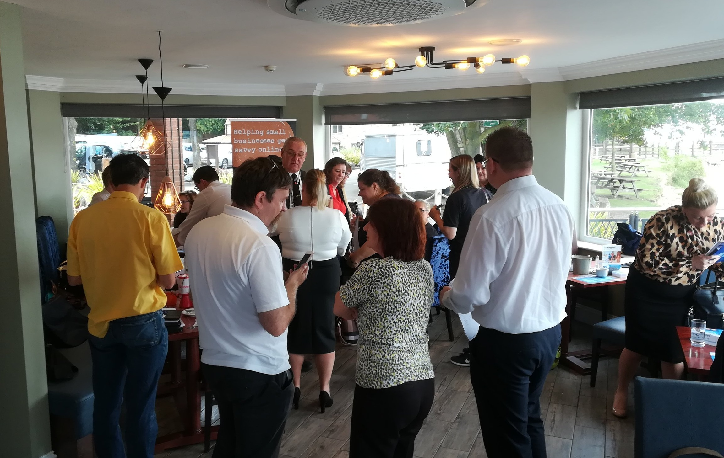 A recent 4networking event I attended.