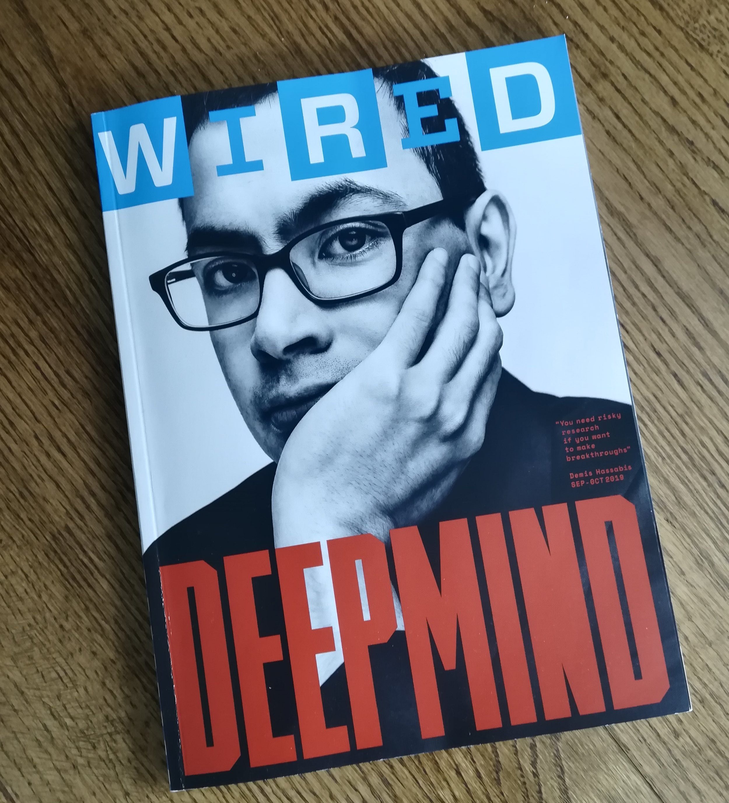 The latest subscriber edition of Wired.