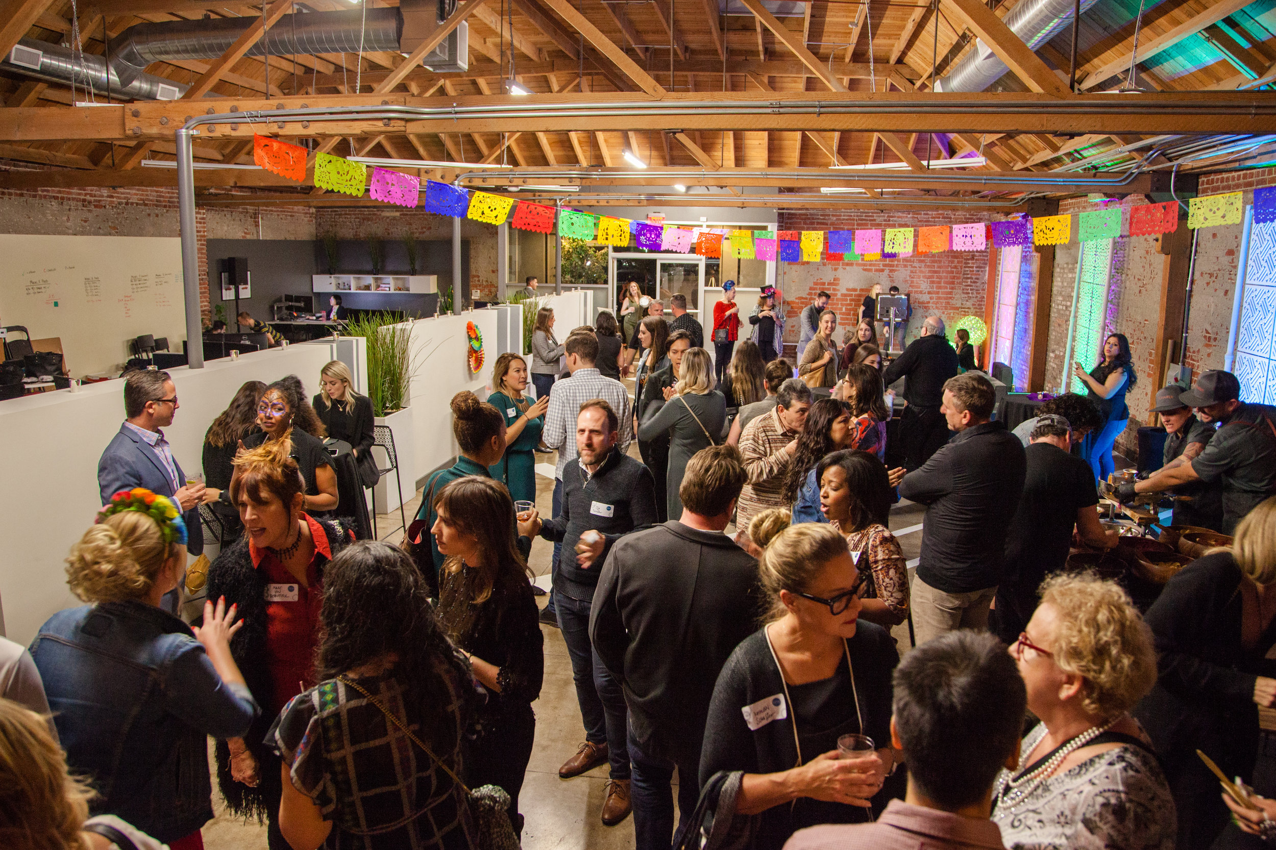 November 1, 2018 - 'fête of the dead' DÍA DE LOS MUERTOS Host Venue: MG Studios, DTLACatering: Schaffer / Bar: ScarlettePhotographs by CHARLEY STAR PHOTOGRAPHYClick Here