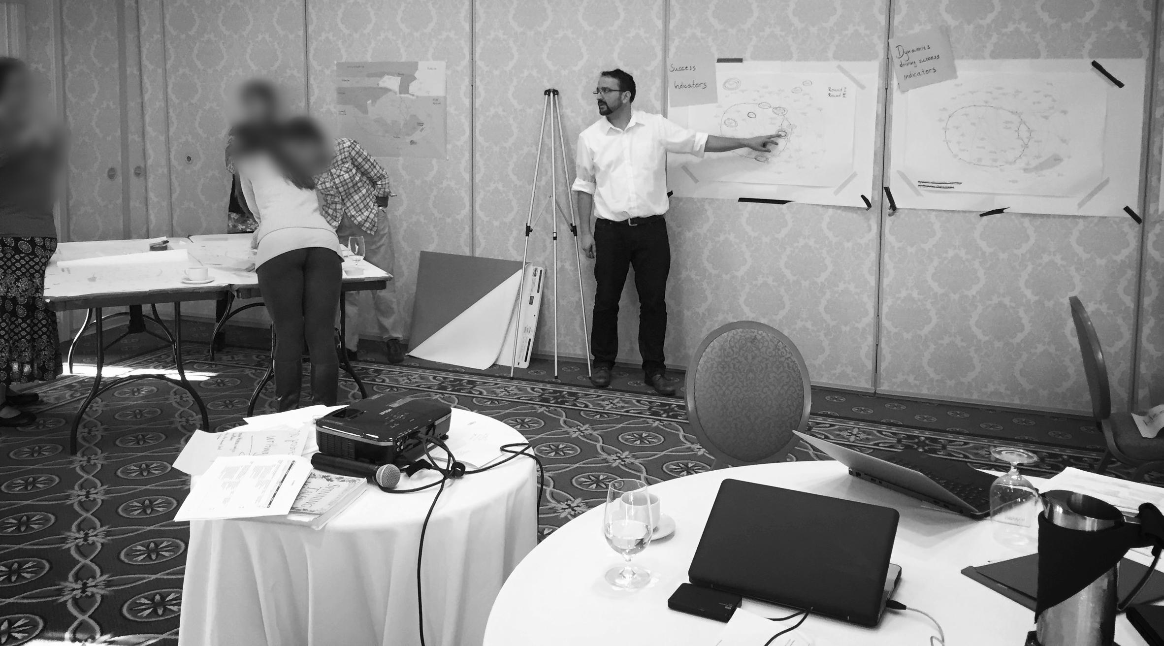 Facilitating the strategic design