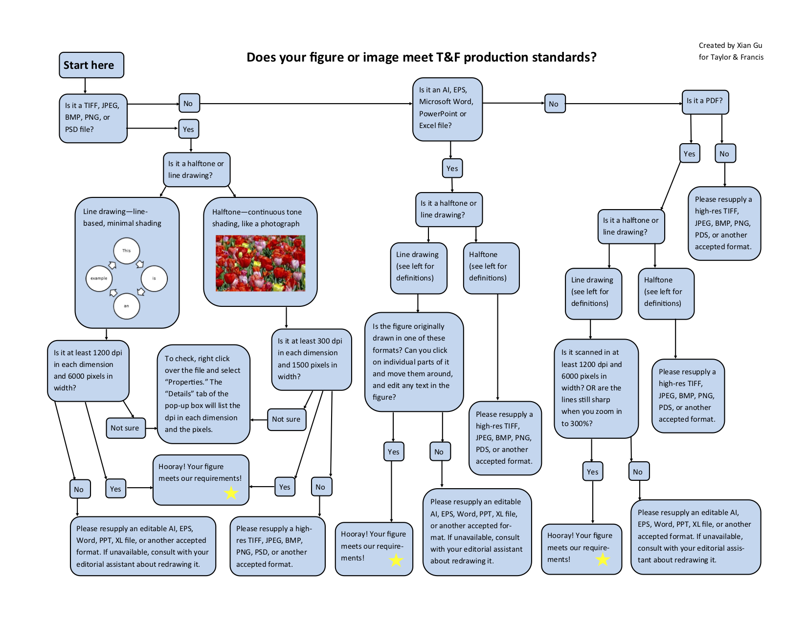 Figure & Image Flow Chart