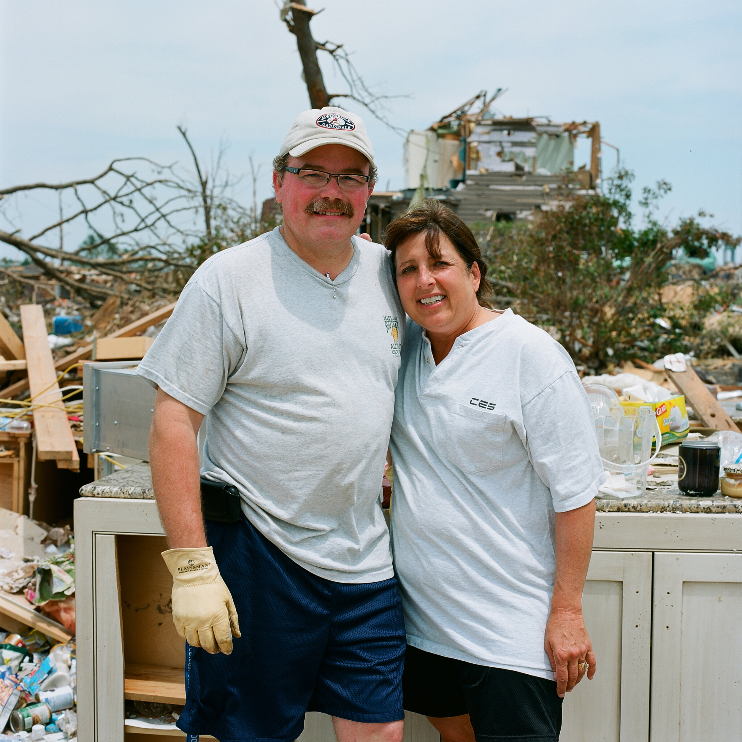 - NICOLETTE AND HER HUSBANDtheir family narrowly avoided the tornado by escaping into their basement, mere moments before the tornado struck. her daughter's boyfriend, will norton, perished while driving home from HIS high school graduation.