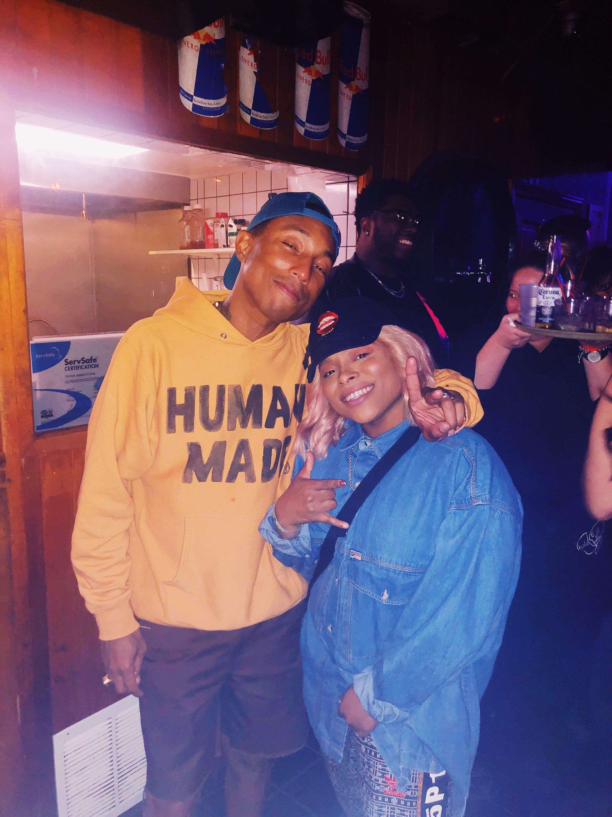 Grammy winning producer Pharrell