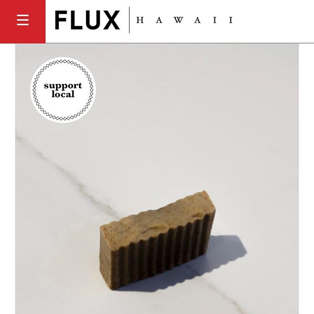 Mahalo @fluxhawaii for making Kope Soap part of your 2018 Gift Guide! View the wide selection of local holiday gift ideas on www.fluxhawaii.com/gift-guide-2018/