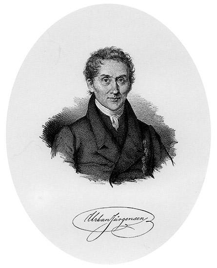 Urban Jürgensen studied with Abraham Louis Breguet in Paris in 1798.