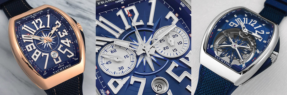 The Vanguard Yachting collection features a range of complications.