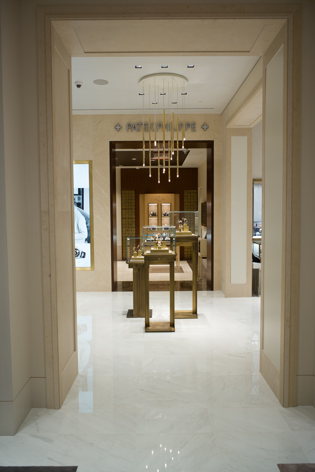 The opulently appointed WoS boutique at the Wynn in Las Vegas