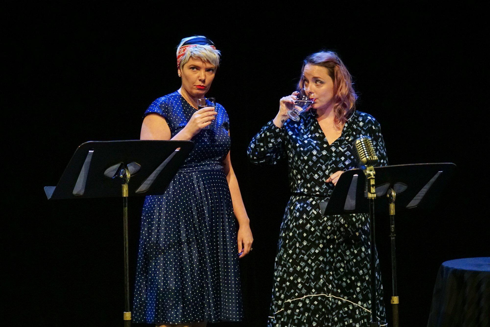 Lynn Panting and Thea Morash