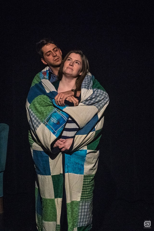 Owen Van Houten (Todd) and Kathryn Burke (Diana) courtesy of Sean Jessome Photography.