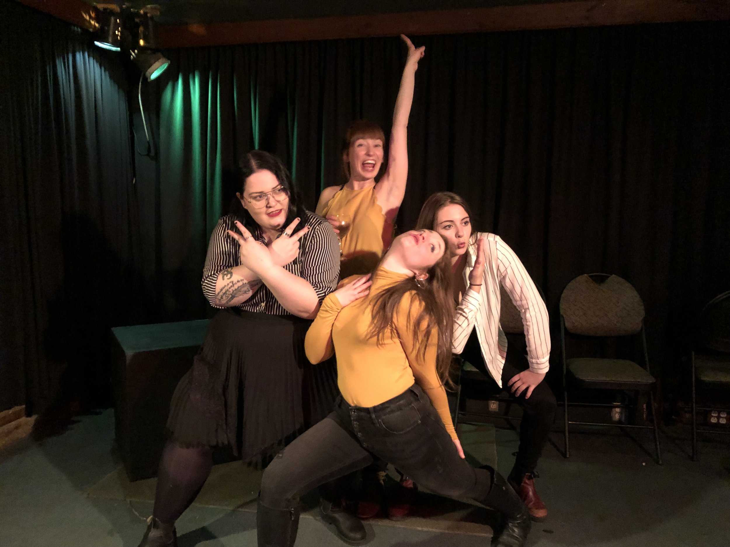 The hilarious ladies of Fully Gorgeous