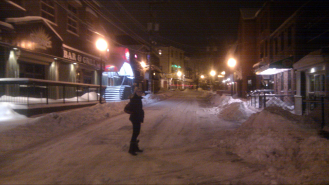 We swear this photo of George Street was not taken during Newfoundland's dreaded Junuary.