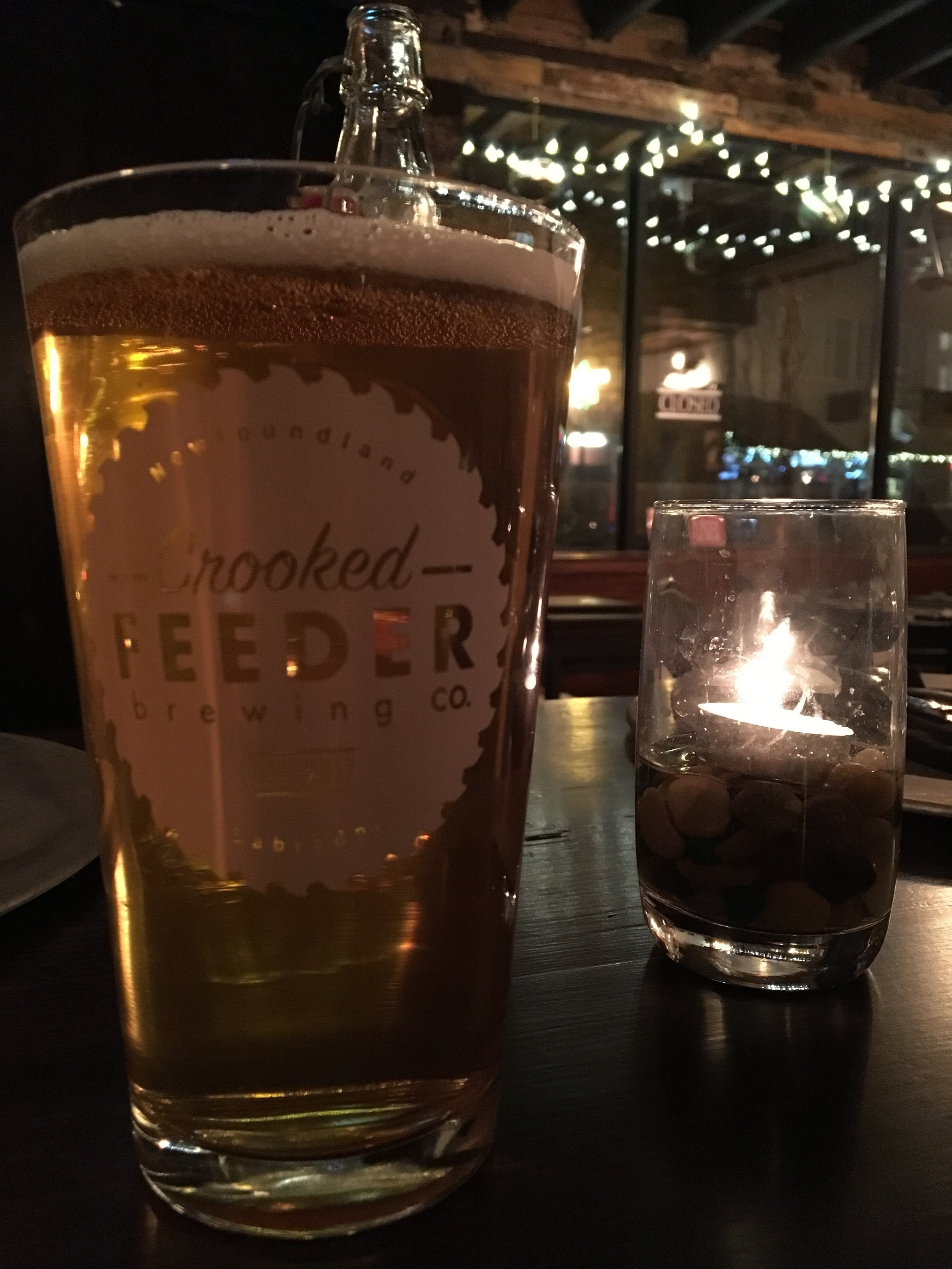 Crooked Feeder Pale Wheat at Green Door.