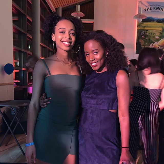 "#FAQ | ""Does Middlebury's SGA president shop with STW?"" 🥰 —— & just like that, @basiabeatz & @nia3robinson stunt in our newest dresses: a green body-con dress by @lovenookie & a blue suede shift dress by @nastygal Looking for something similar to wear this weekend? Swing by meeker basement. 4-7PM Tomorrow. 2-4PM Friday."