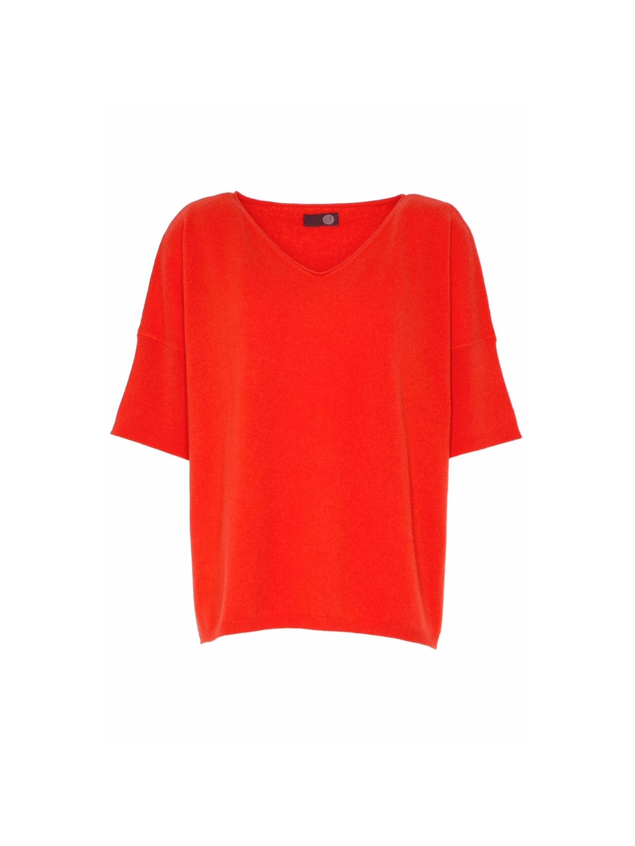 Palm Springs   Dieser Pullover mit überschnittenen Schultern und den cleanen Abschlüssen ist ein legerer Begleiter. Der lässige Look wird durch die oversized geschnittene Passform betont.  100% Cashmere  Länge: 64 cm  Größe: one size