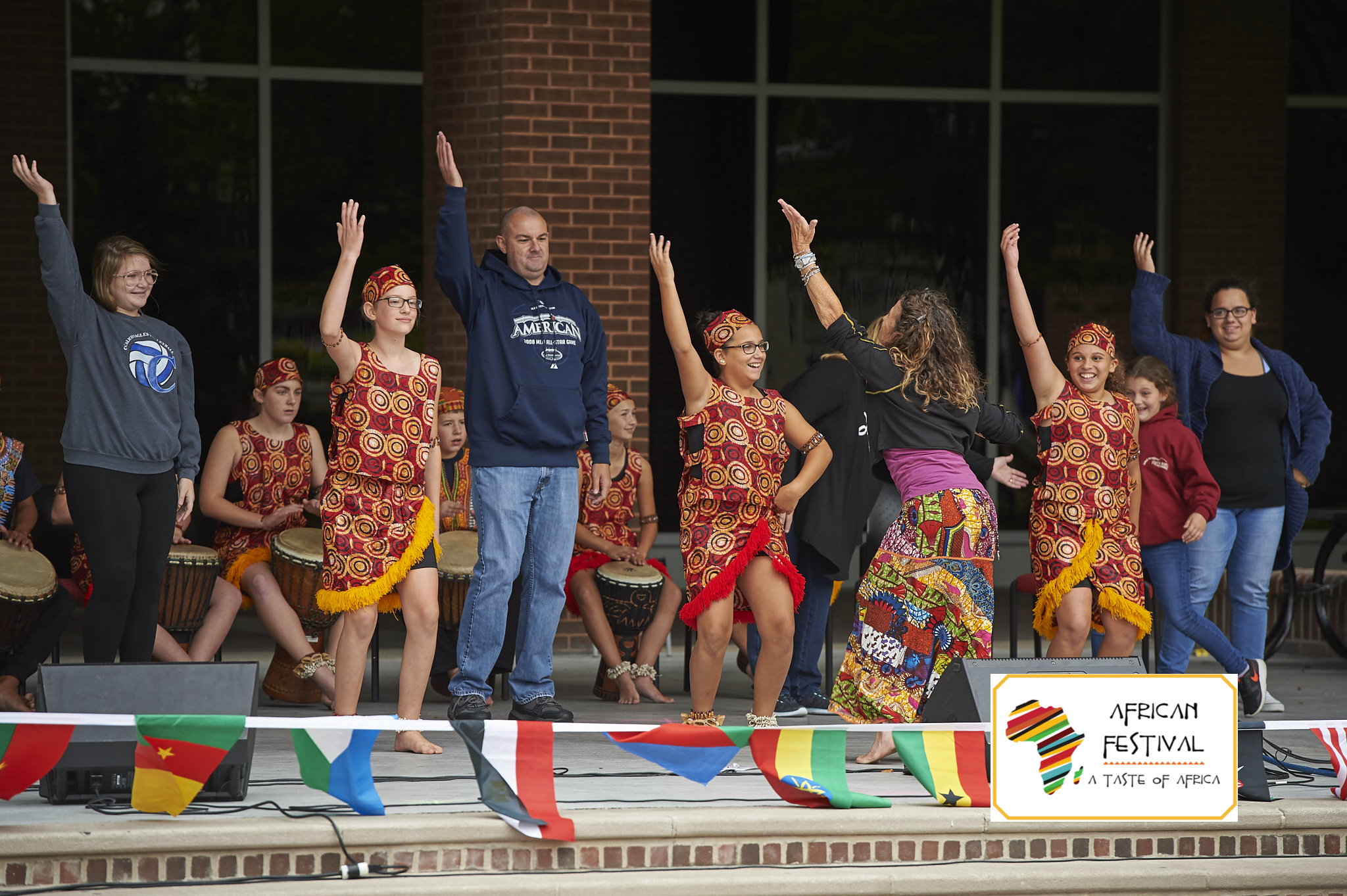 Interactive African Dance with event Attendees