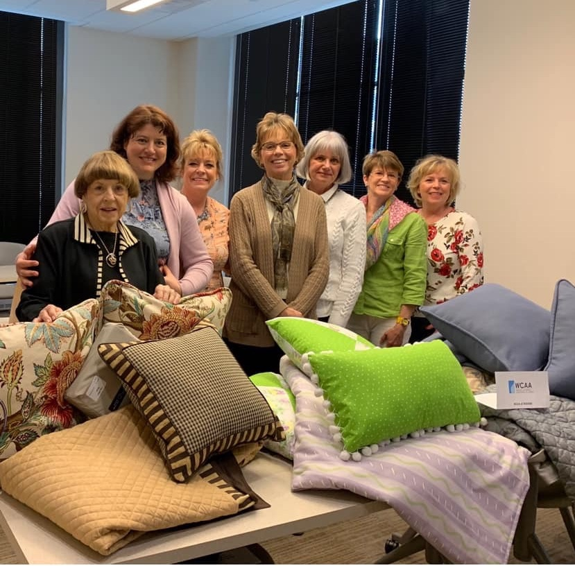 Members of the WCAA of Indiana Chapter recently completed a service project benefiting the Gennesaret House, a health recovery home for homeless women located in Indianapolis, IN.  📷: WCAA of Indiana Chapter