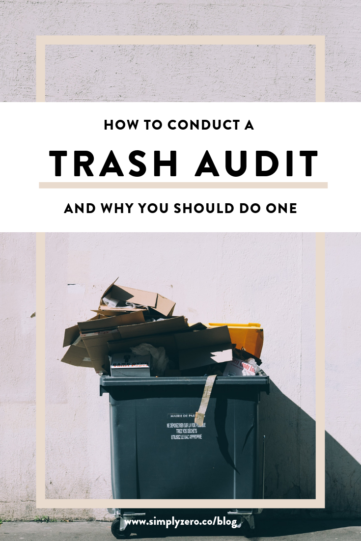 how to conduct a trash audit by simply zero