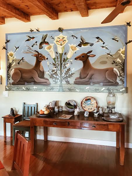 Bear Mountain Lodge & Blue Dome Gallery - Linda Brewer307 N. Texas StSilver City, NM 88061Tel: 575-534-8671info@bearmountainlodge.com