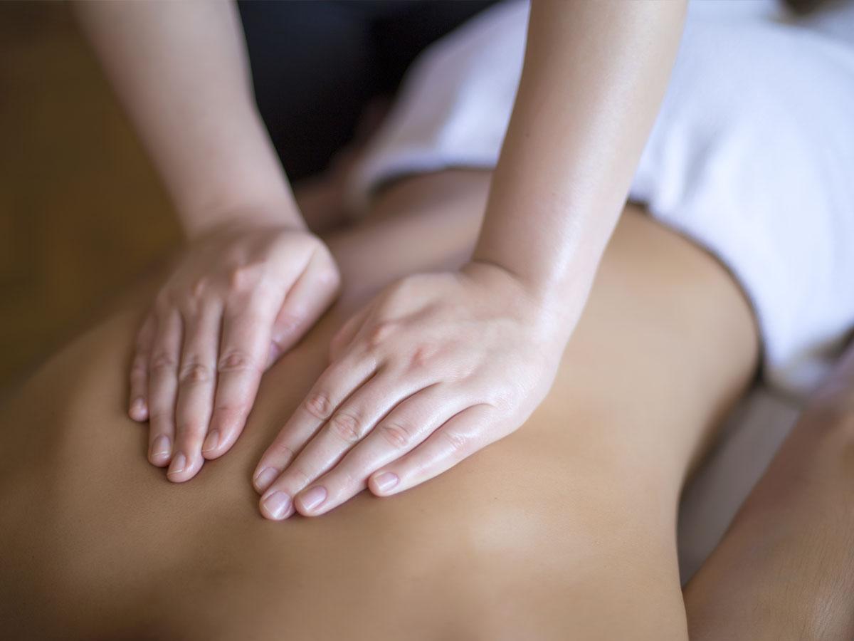 Massage therapy at Ashland Natural Medicine.