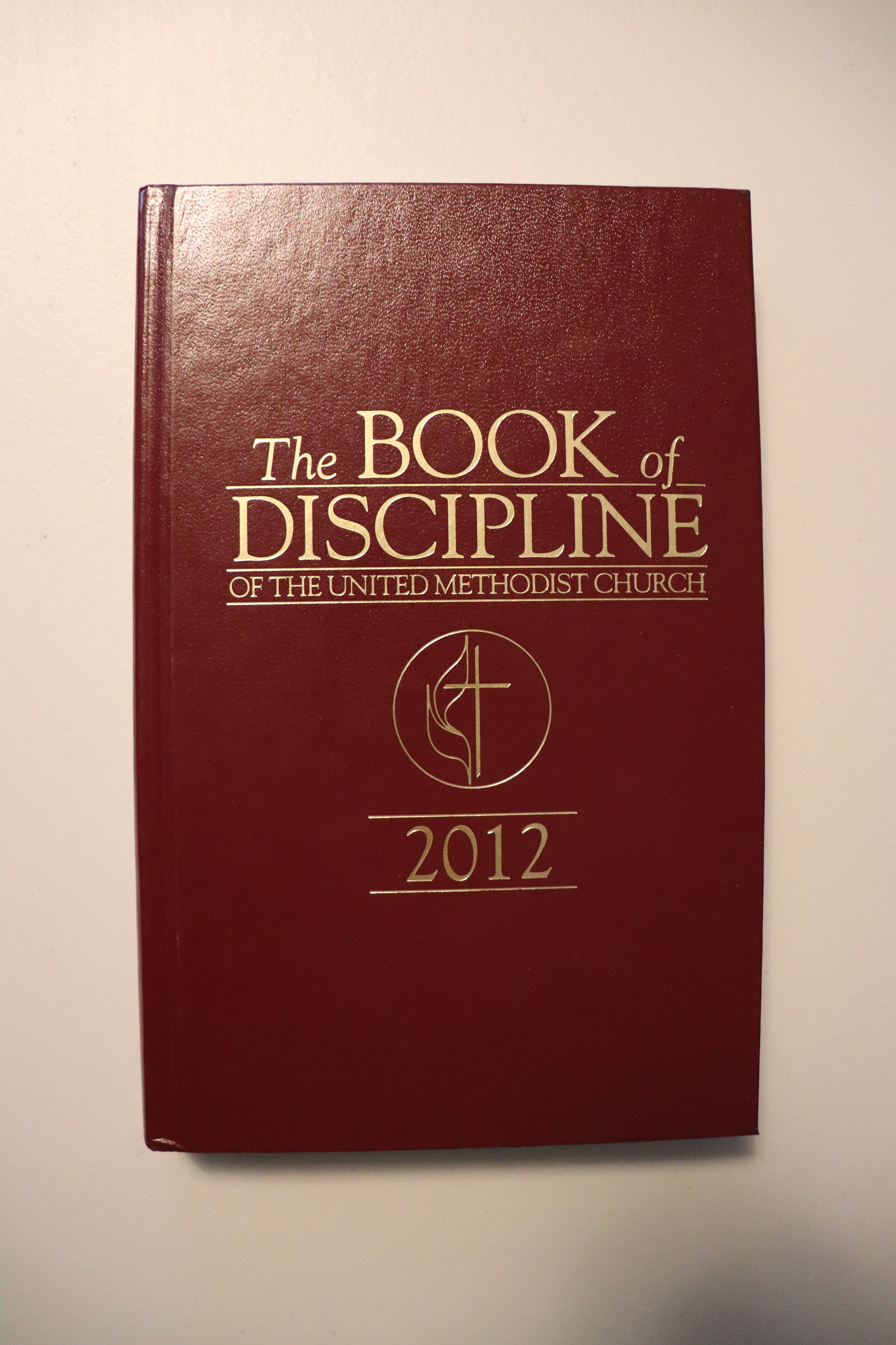 'The Book of Discipline' outlines the structure and common doctrine for United Methodists worldwide.  -