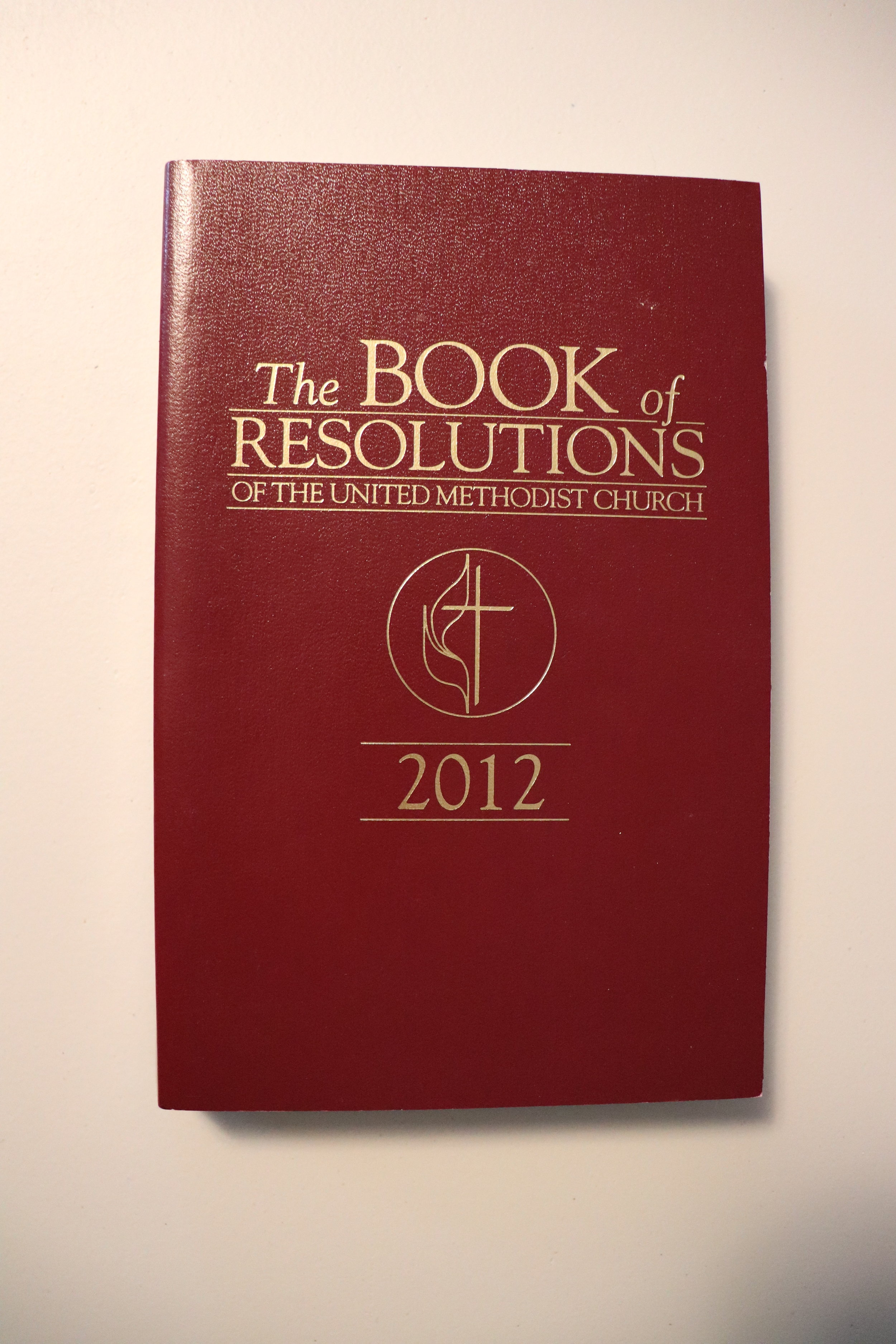'The book of Resolutions' further represents the positions held by the United Methodist Church. -
