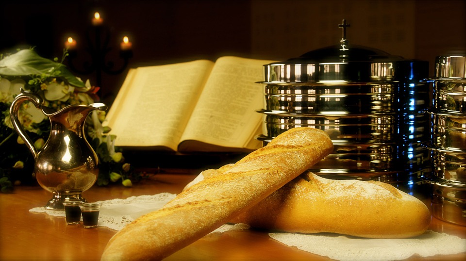 Holy Communion is served the 1st Sunday of each month. - United Methodists beliefs in an