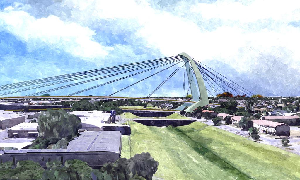Guadalupe Bridge - San Antonio, TX