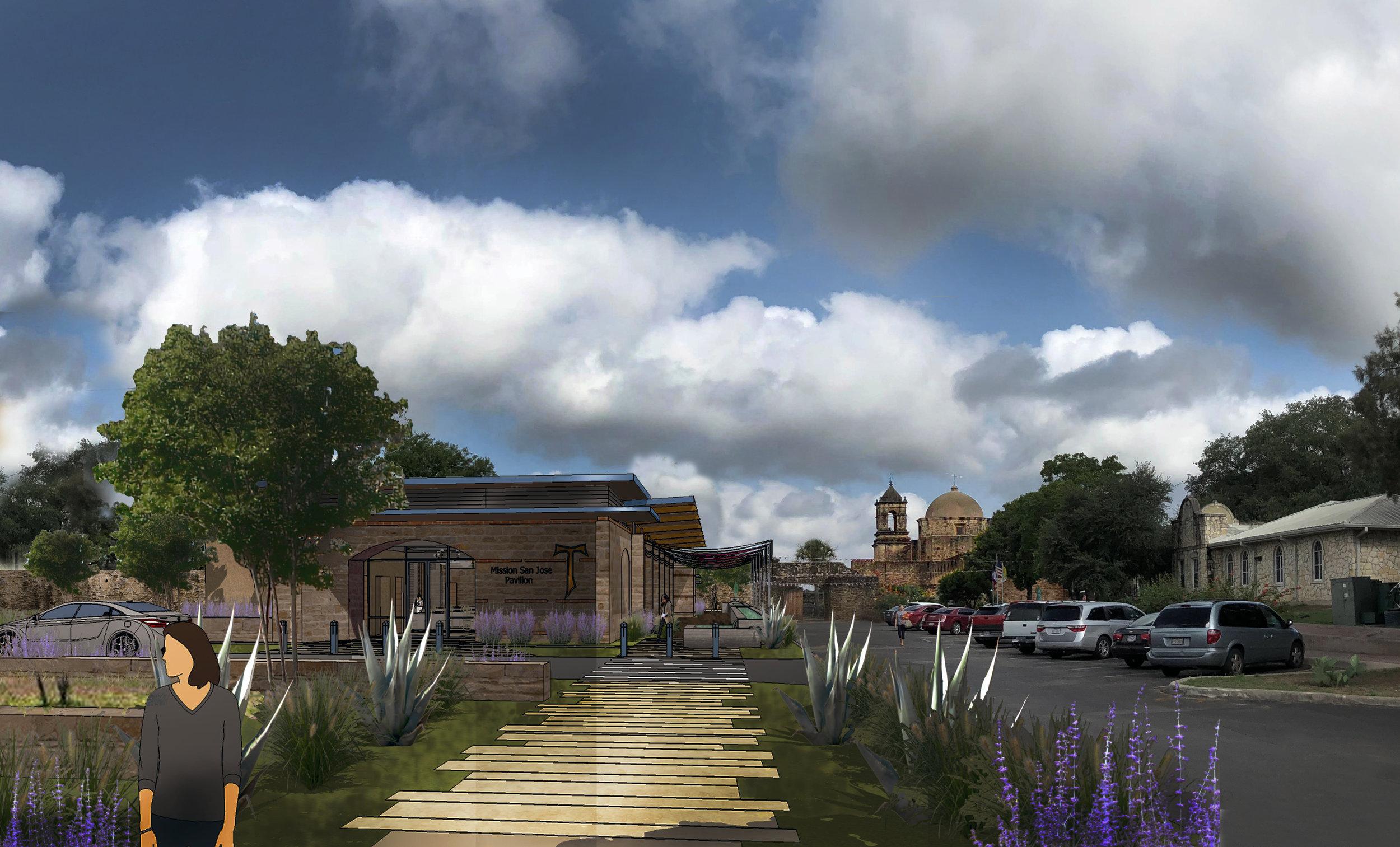 Mission San Jose Pavilion - 701 E. Pyron Ave.San Antonio, TX 78214