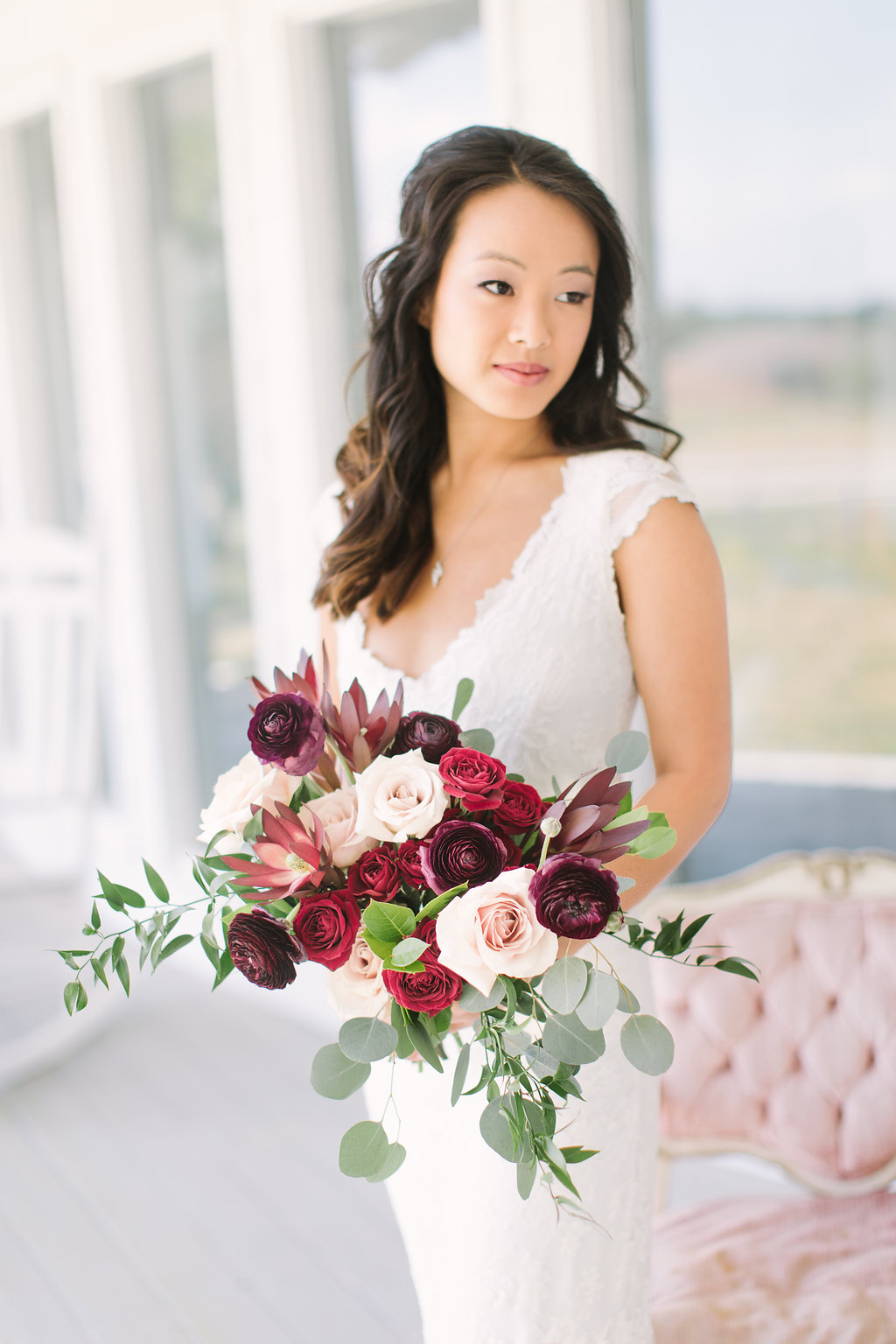 Step 1 : SELECT YOUR COLOR PALETTE AND STYLE FROM OUR FLORAL COLLECTIONS - Choose the collection that reflects your wedding style! Our team has carefully created timeless and romantic bouquets, centerpieces and more in beautiful color palettes, designed to maximize your budget. Simply click