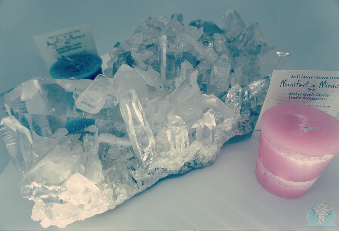 Attend and preregister for a chance to win this quartz cluster valued at $333.00!