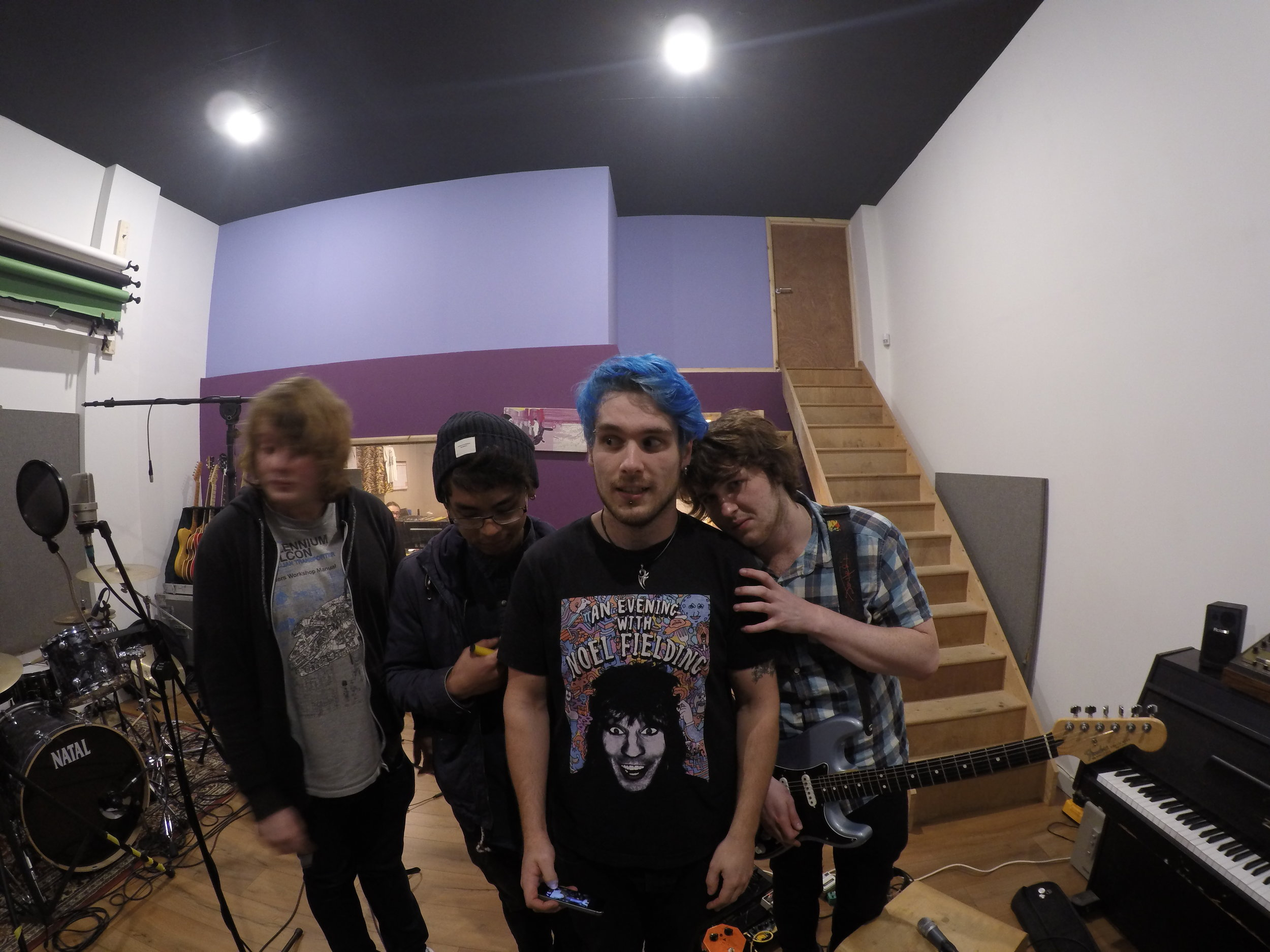 Recording Moose Knuckle - November 2015