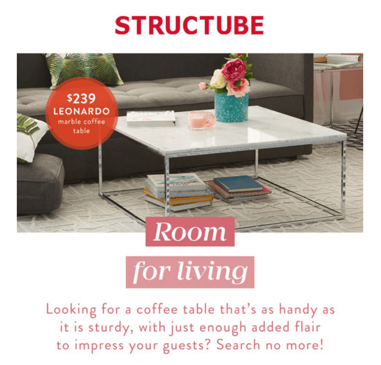 Structube Must Have Coffee Tables Interior Design Toronto