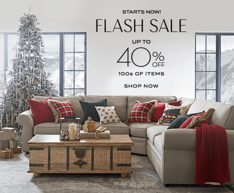 Pottery Barn Flash Sale Interior Design Toronto