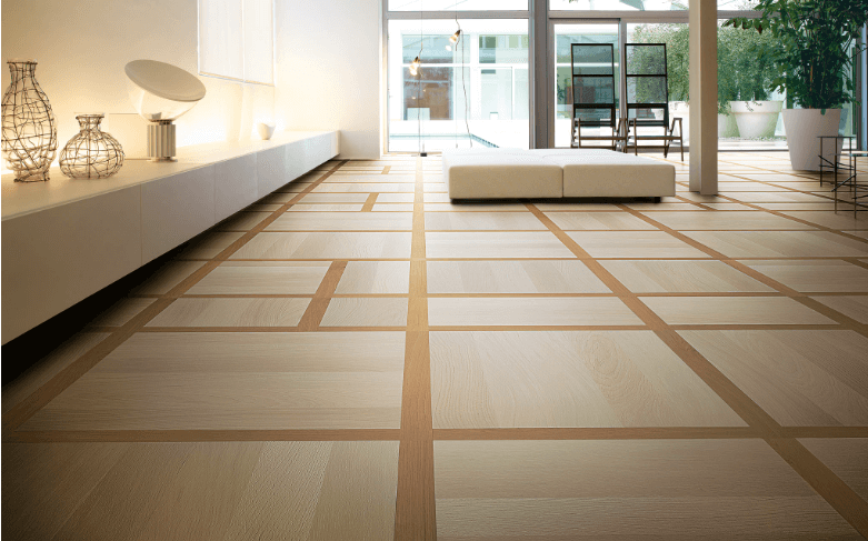 LG Avenue Regola is the outcome of the pursuit of abstract art in wood resulting in elegant rhythm of lines and backgrounds to draw a balanced grid.
