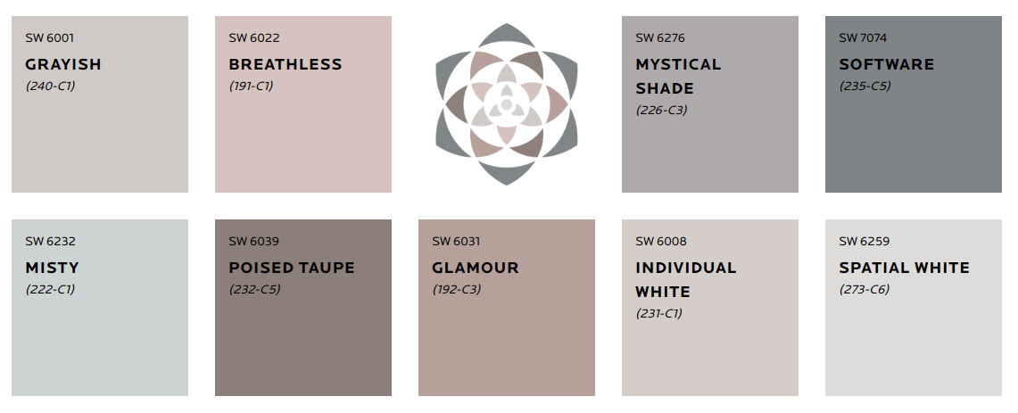 mantra palette-sherwin-williams-color-trends-2020