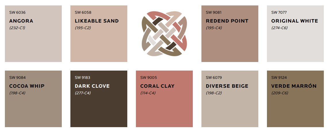 heart-pallette - sherwin-williams-color-trends-2020