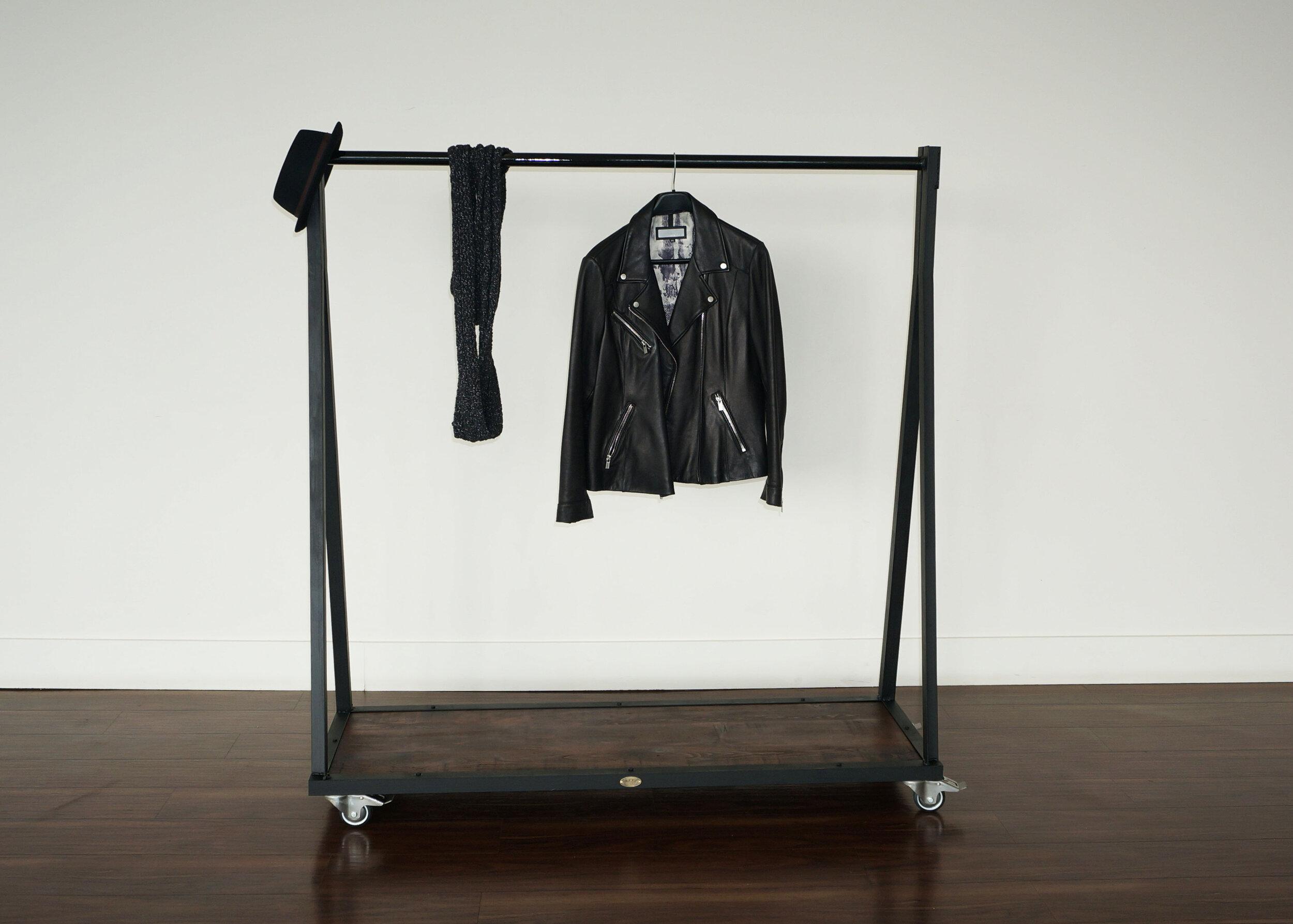 industrial steel wood clothing rack.jpg