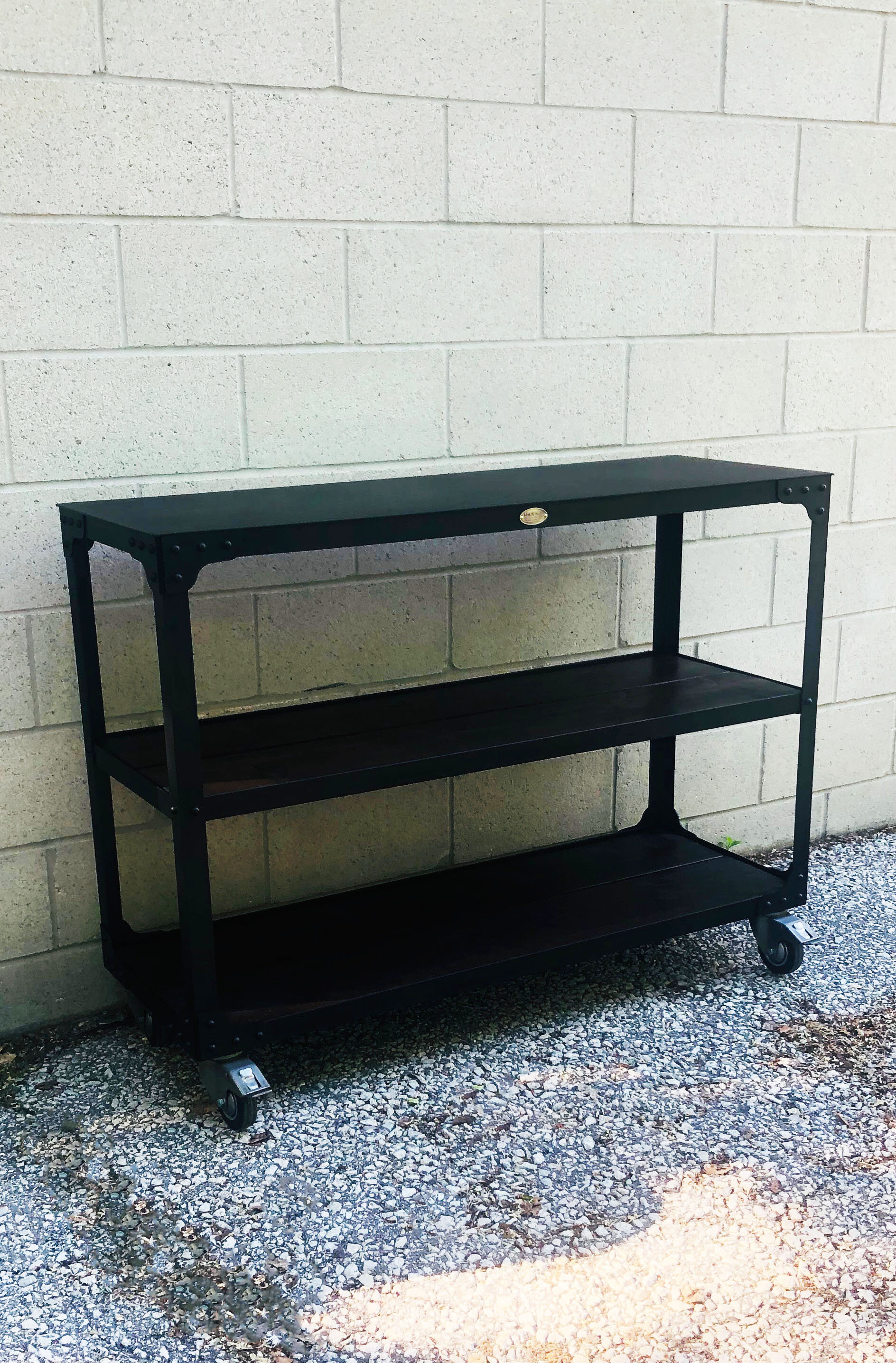 Steel Top Console Table.jpg