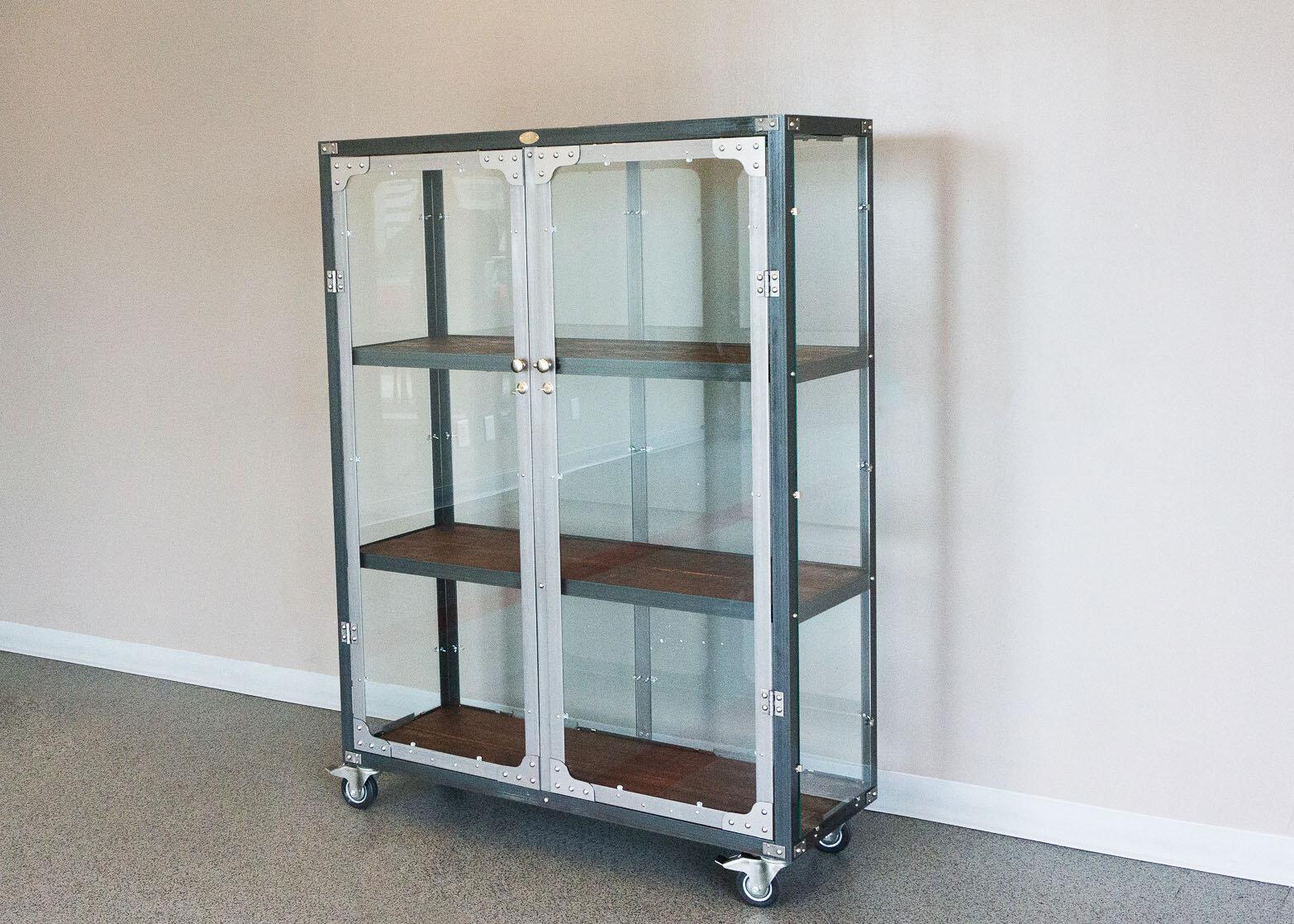 RetroWorks glass cabinet